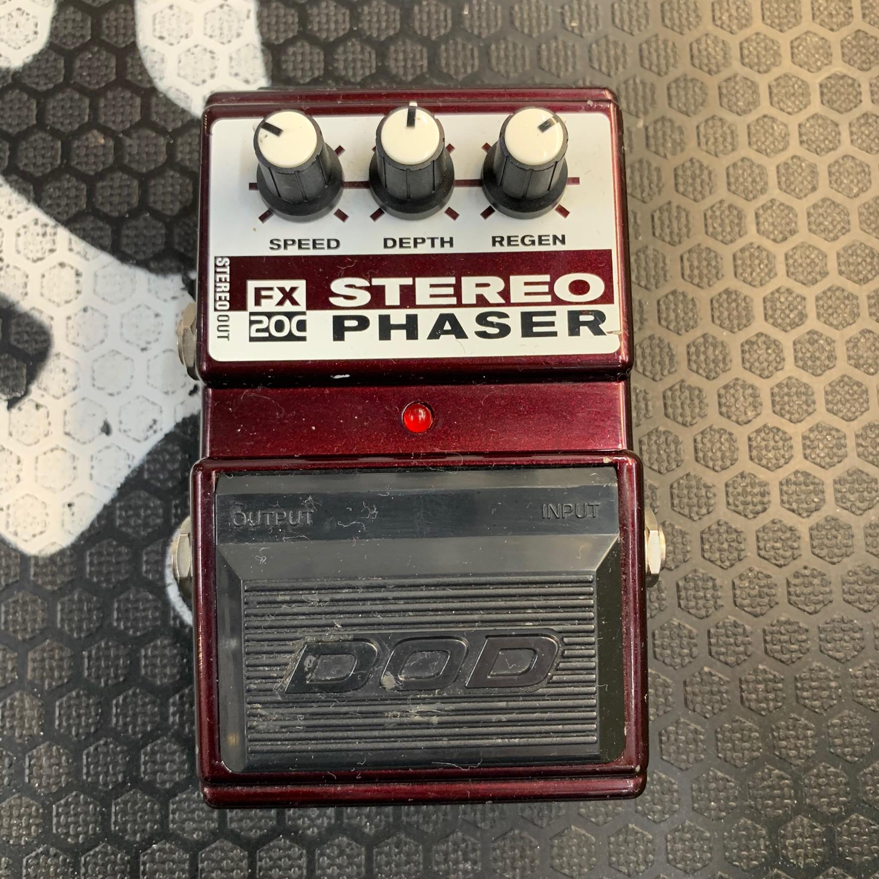 DOD Stereo Phaser FX200 (boxed)