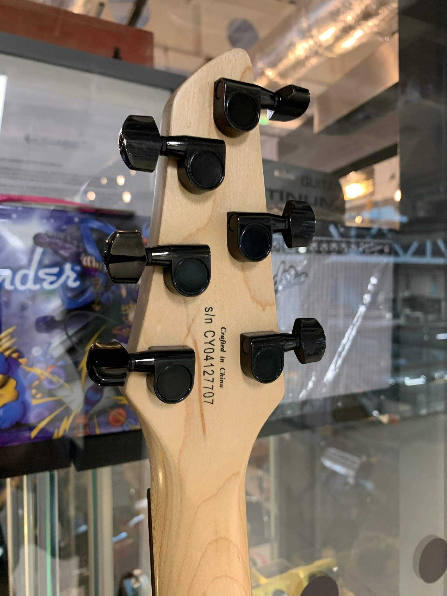 Squier Showmaster Rally GT