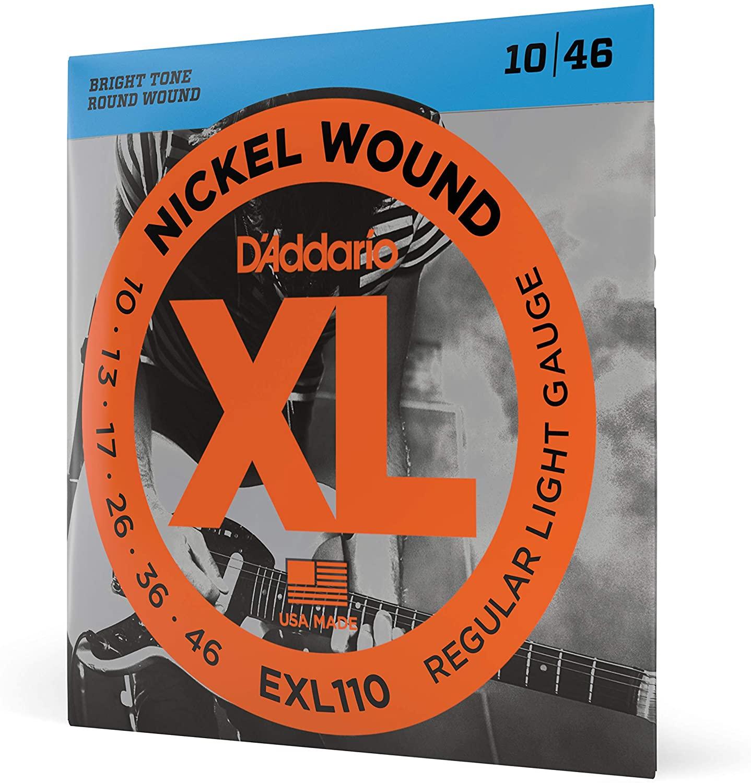 Daddario EXL110 NICKEL WOUND 10-46