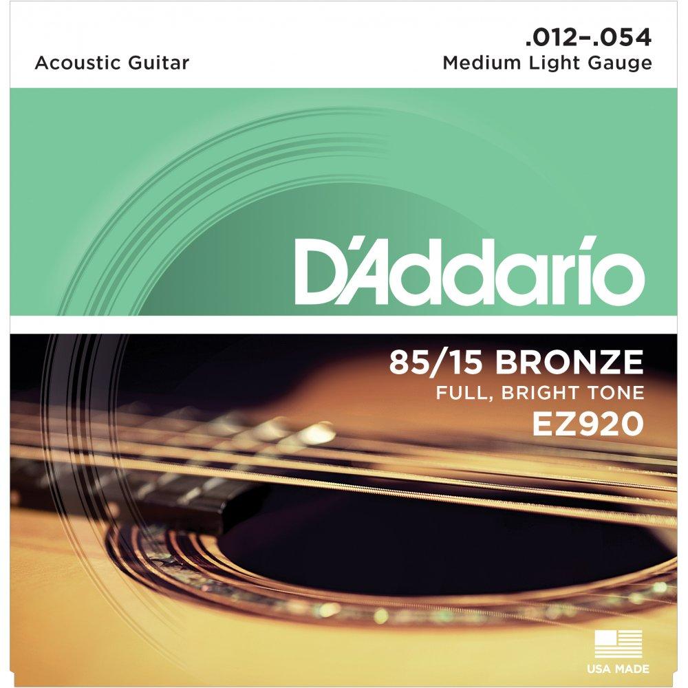 D'ADDARIO Ez920 85/15 Bronze Acoustic