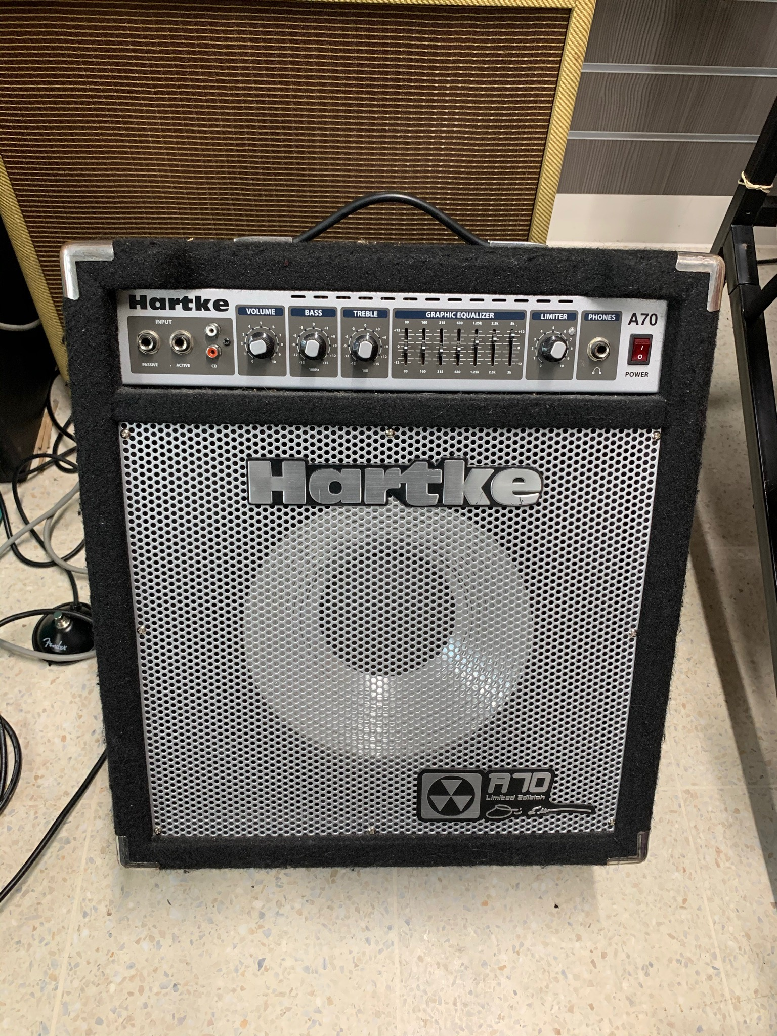 Hartke A70 Limited Edition 70w Bass Combo Amp (Dave Ellefson of Megadeth Signature Model)