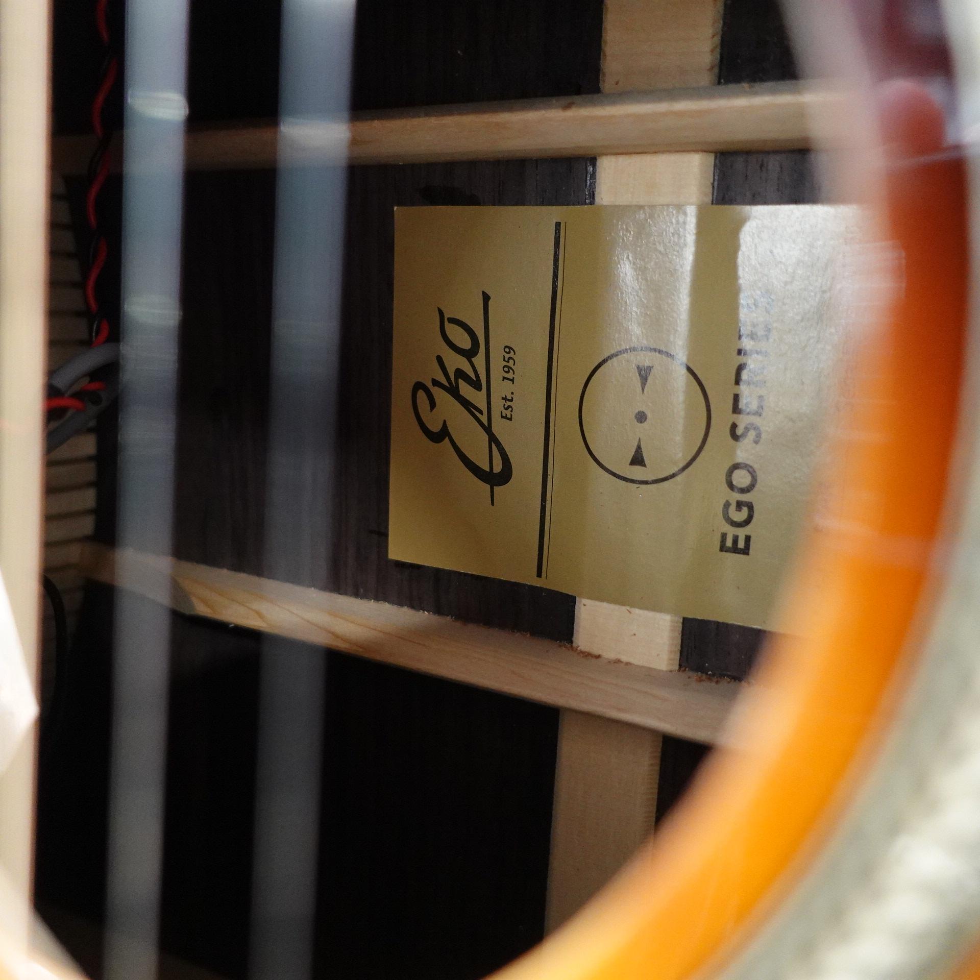 EKO Ego Star Vintage Sunburst Electro