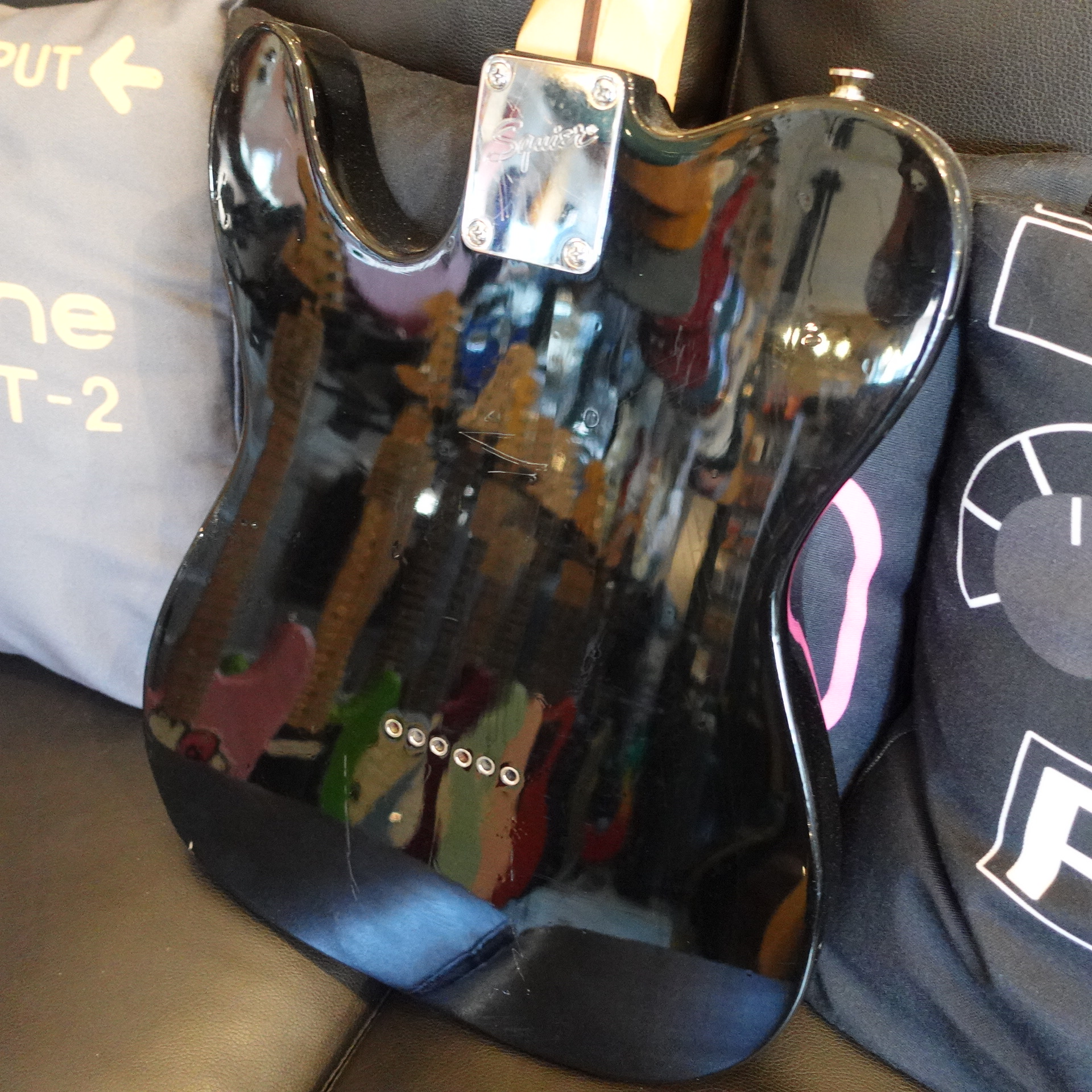 Squier Telecaster Custom Black