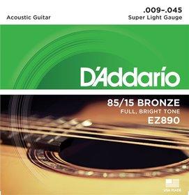 D'ADDARIO 85/15 ez890 TTMN