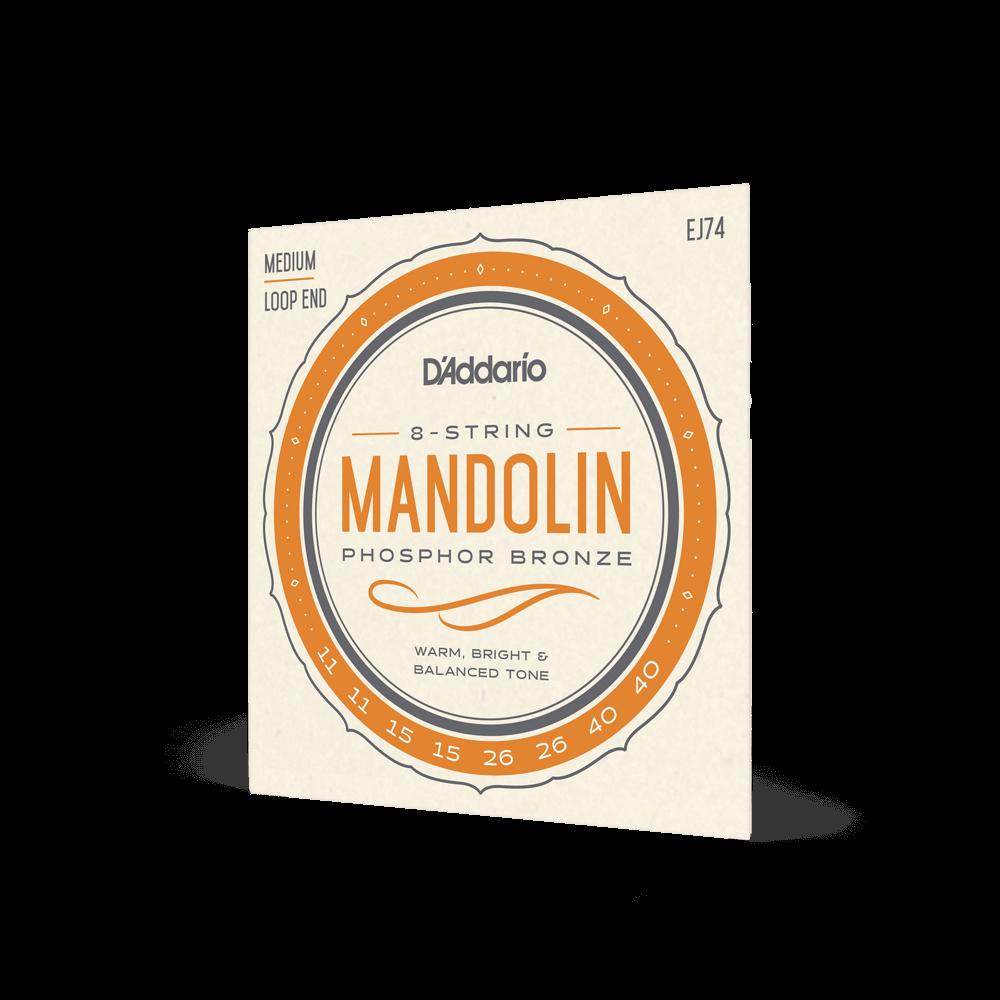 D'ADDARIO EJ74 Mandolin Medium