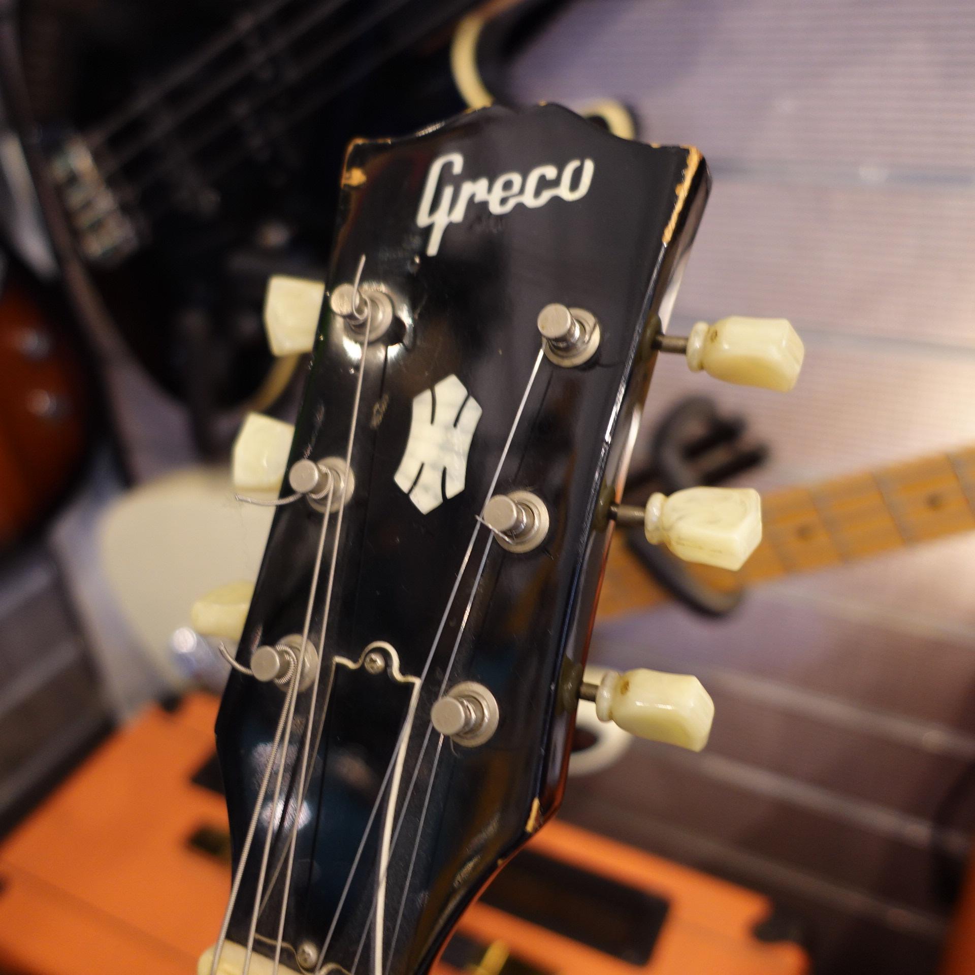 Greco Japan SS600 1989 SG Black Inc HC