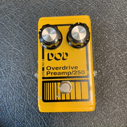 DOD 250 Pre amp OD (80s mini jack 9v)