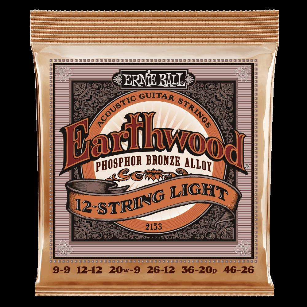 EB Earthwood 12 string set