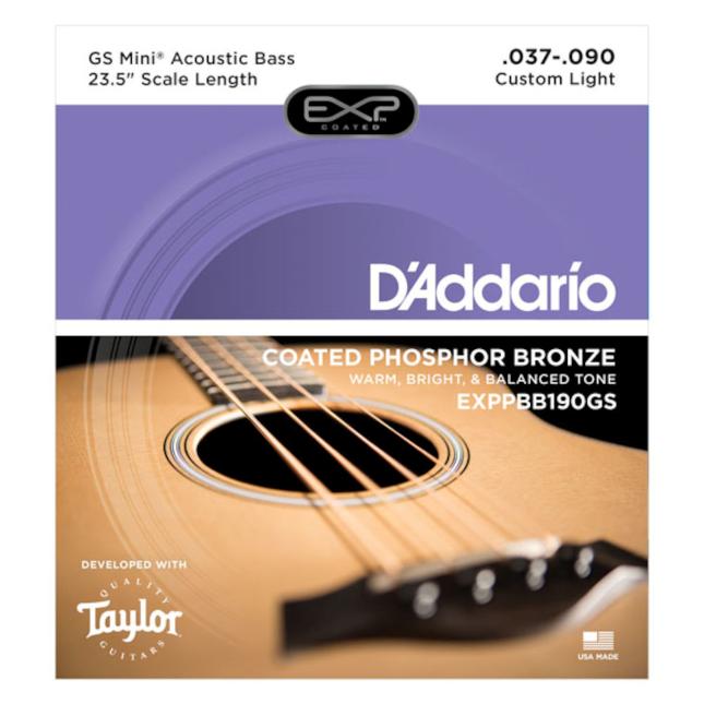 D'ADDARIO EXPPBB190GS Gs mini  AC bass