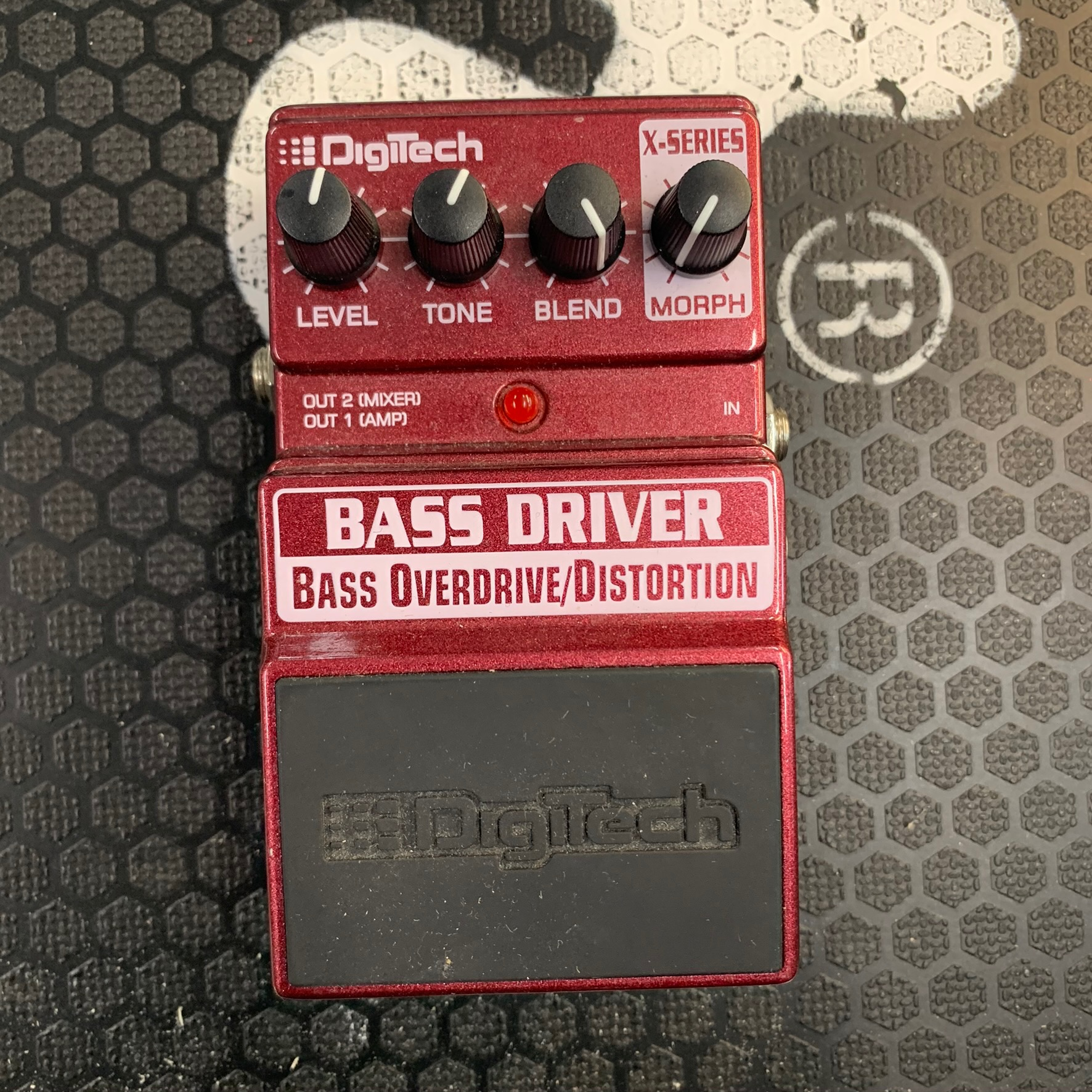 Digitech x-series bass driver
