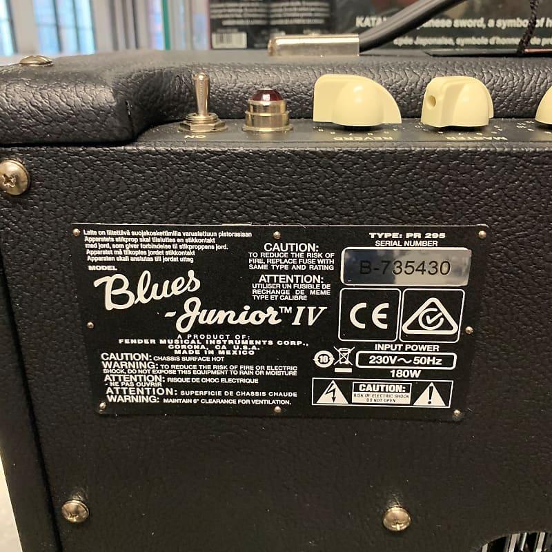 Fender Blues Junior IV BLK