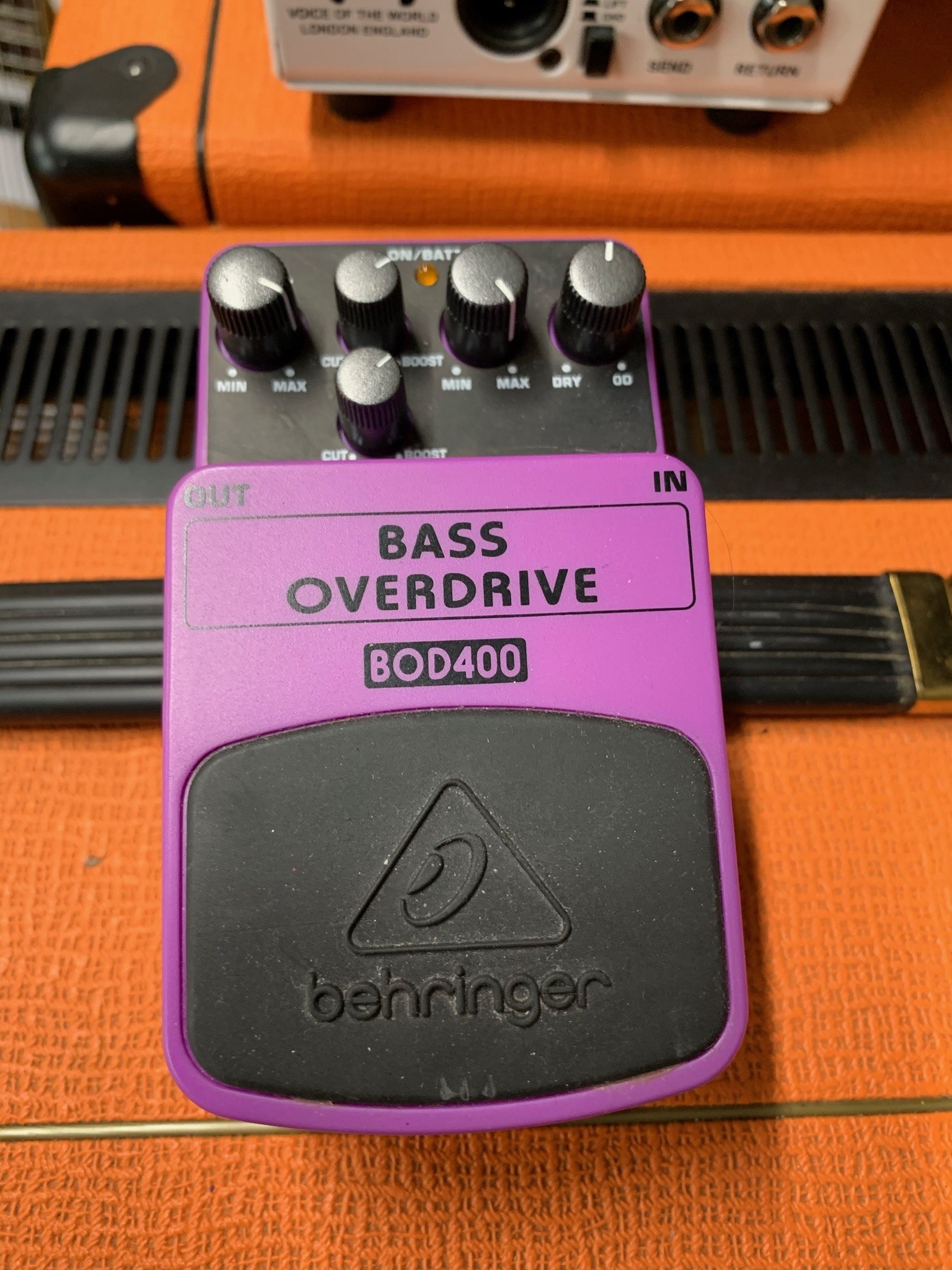 Behringer Bass Overdrive