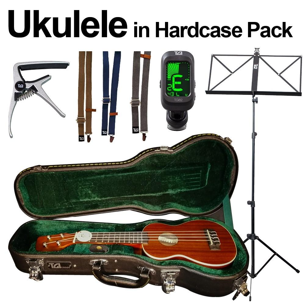 UKULELE PACK - INC HARDCASE