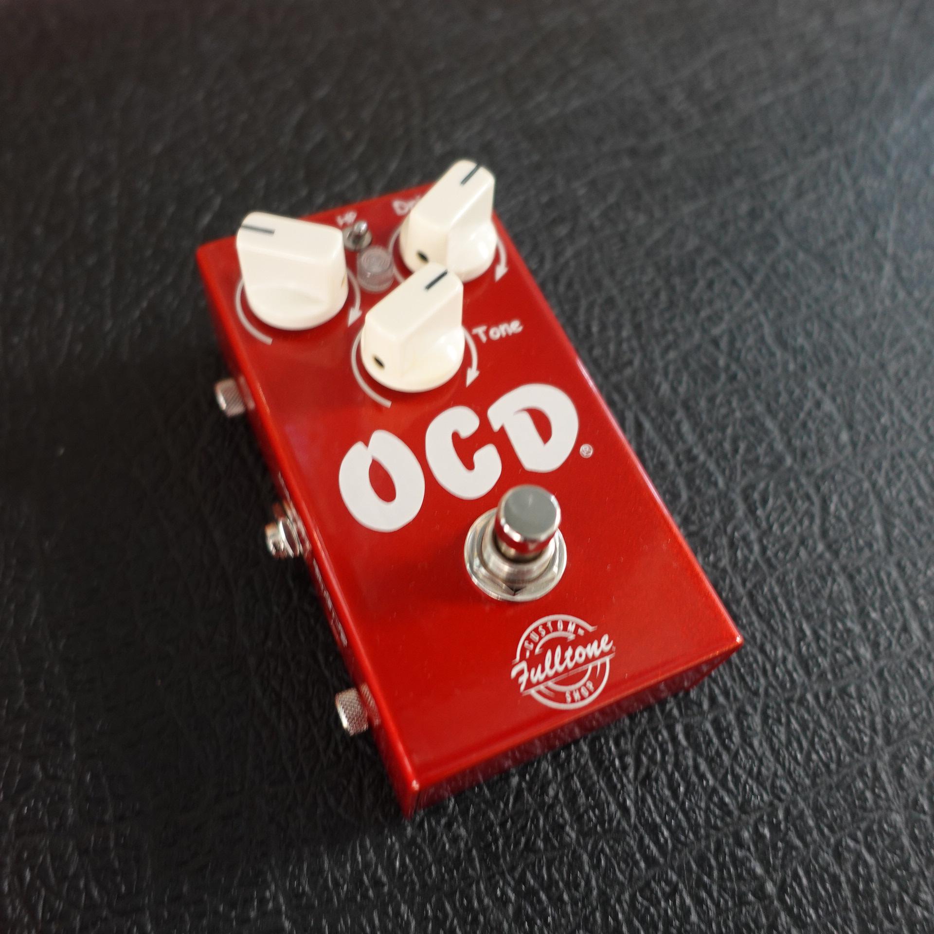 Fulltone OCD RED limited edition