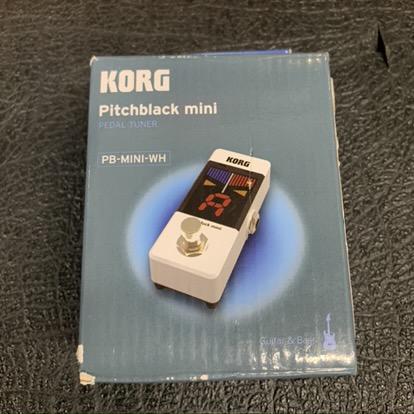 Korg PB-Mini-WH Tuner Pedal