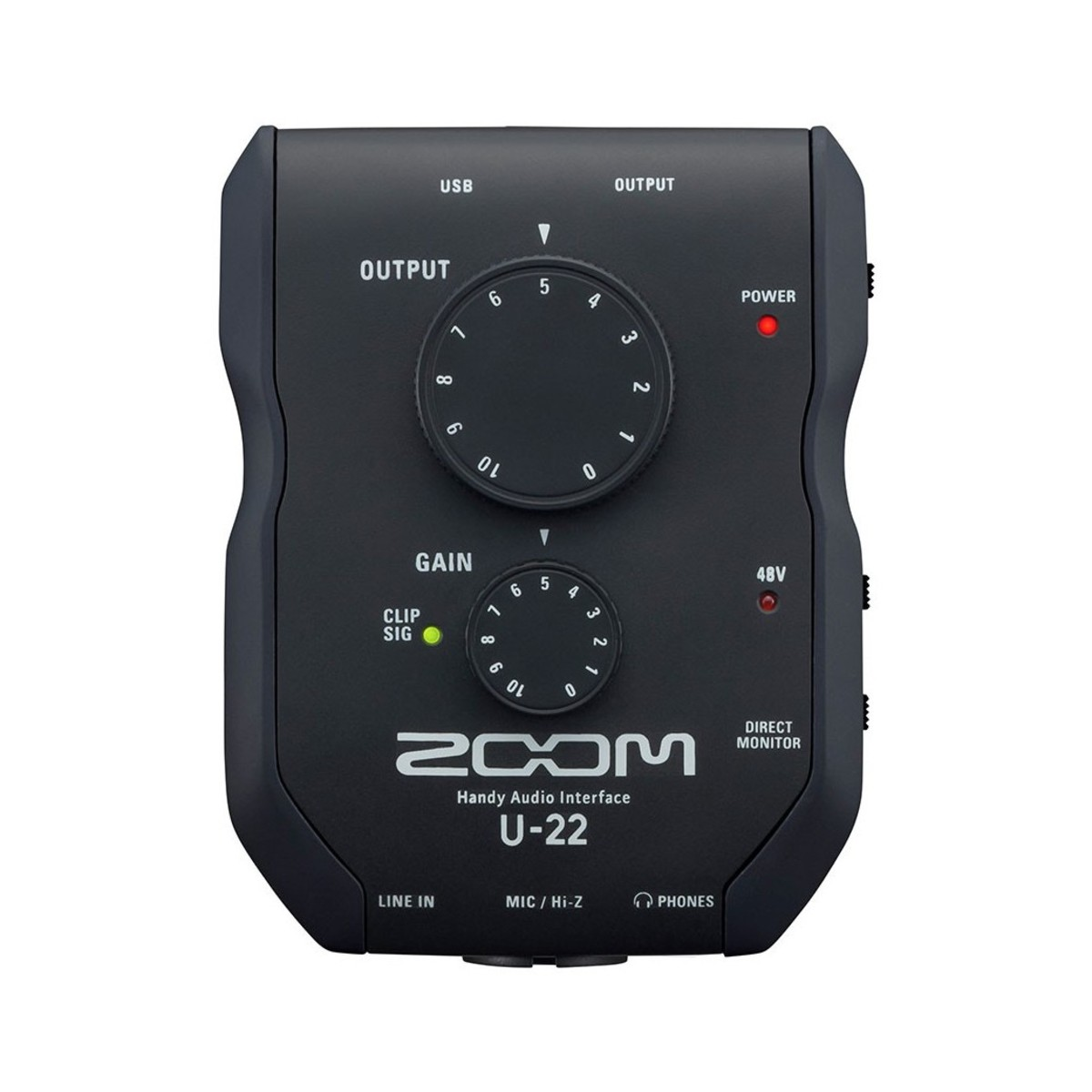 Zoom U-22 (ios) Mobile Interface