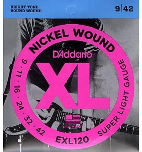 Daddario EXL120 NICKEL WOUND 9-42