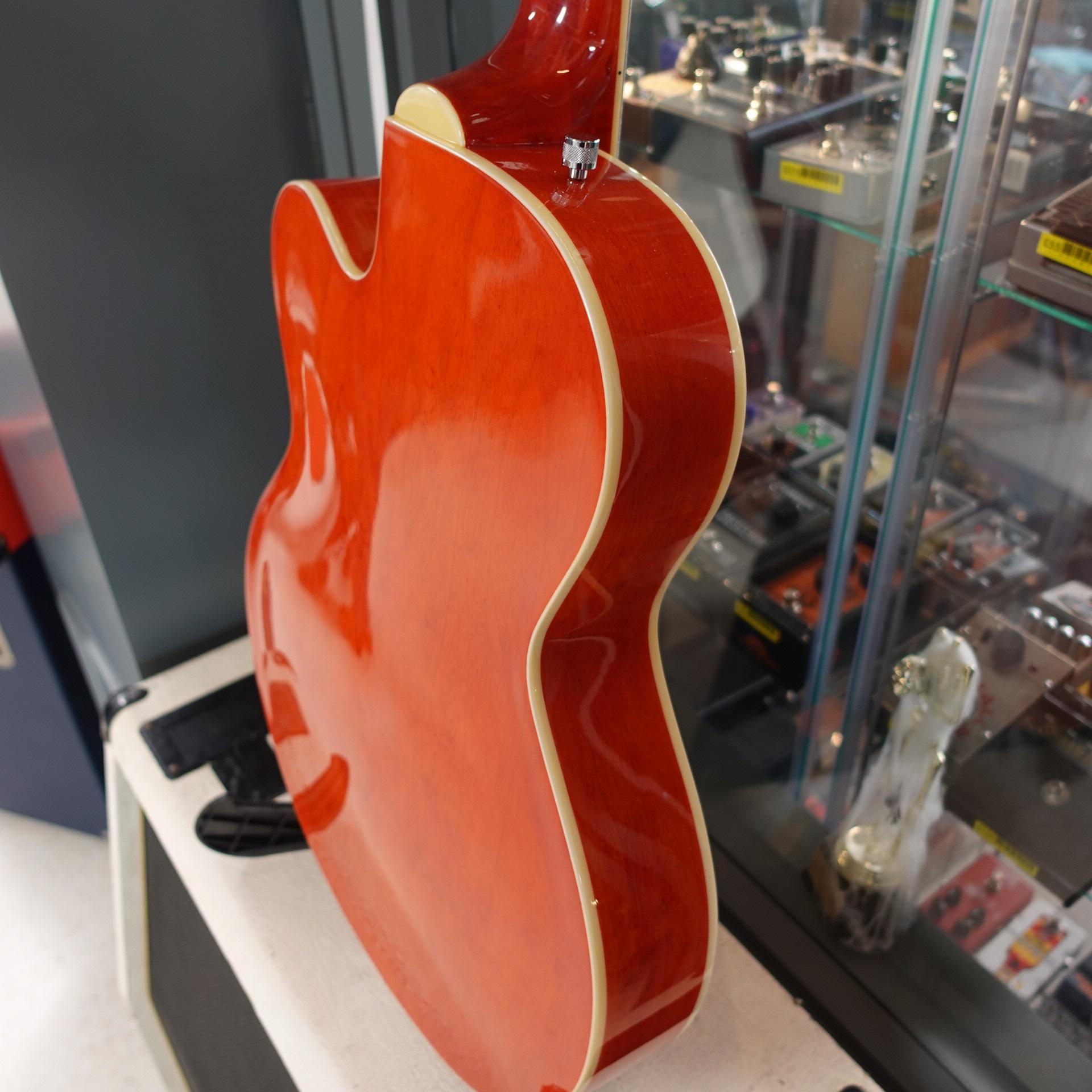 Gretsch G5123B Bass Orange (inc HC)