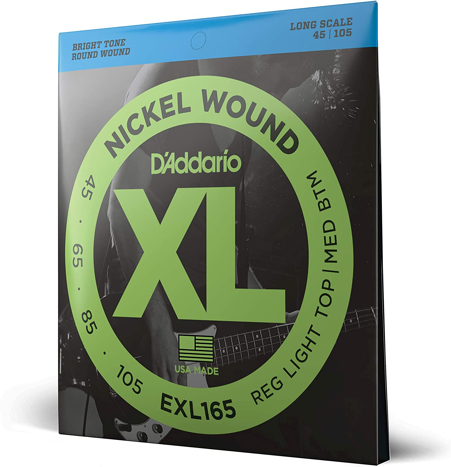 D'ADDARIO EXL165 45-105 Bass Strings