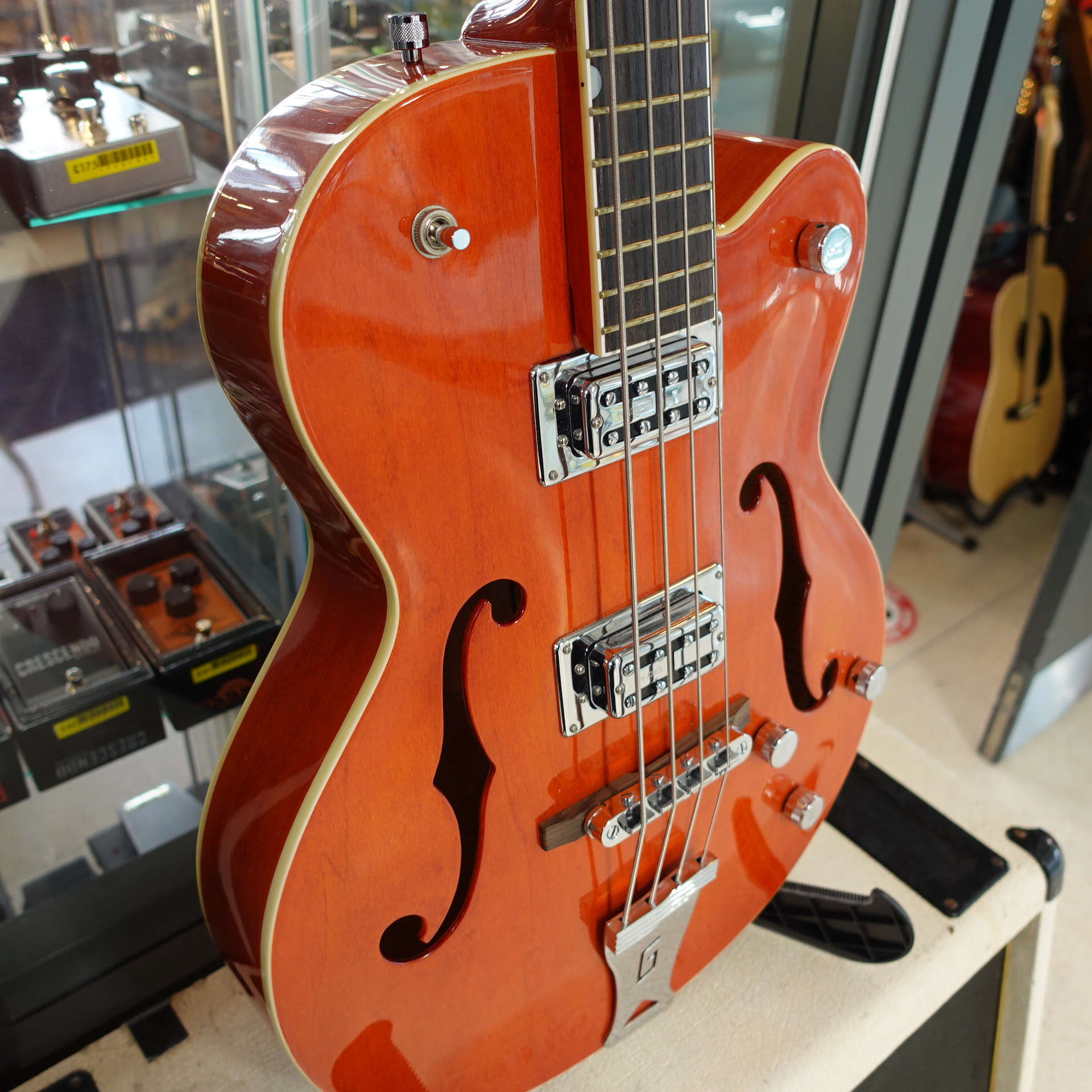 Gretsch G5123B Bass Orange (inc HC)