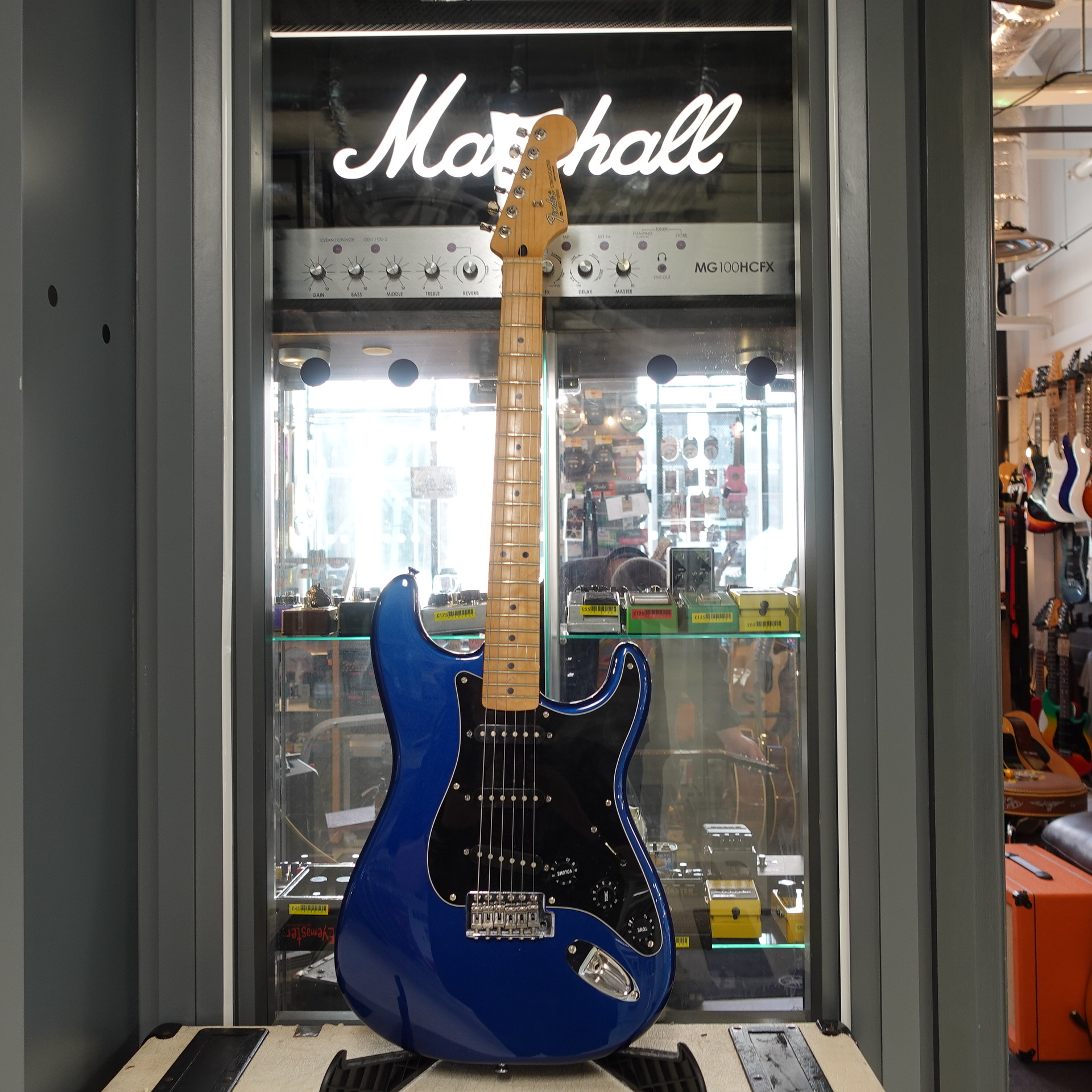 Fender Midnight Blue Strat MN