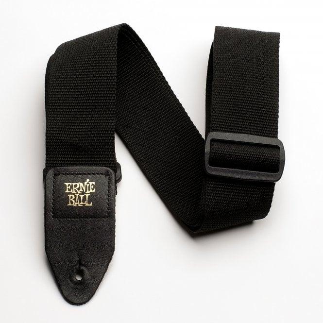 Ernie Ball  Black Seatbelt Strap