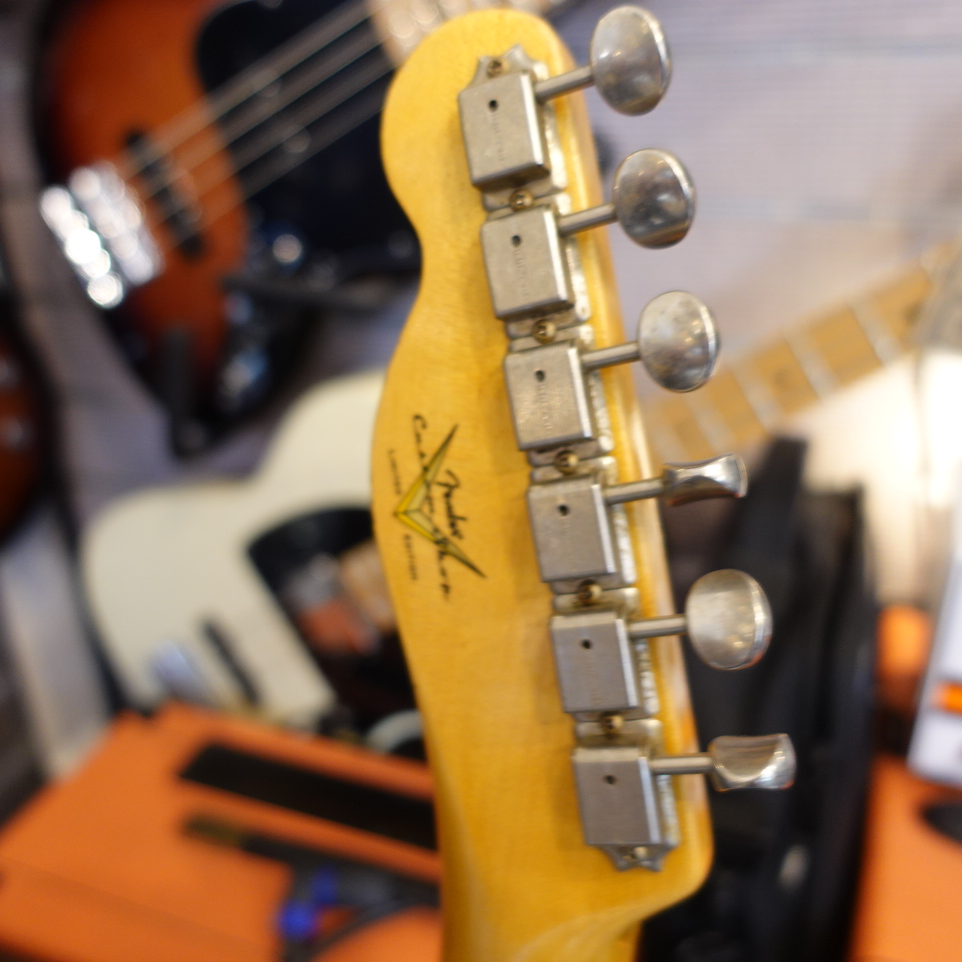 Fender Custom Shop Roasted Pine Double Esquire Custom Collection Limited Edition 1955 Desert Tan inc HC
