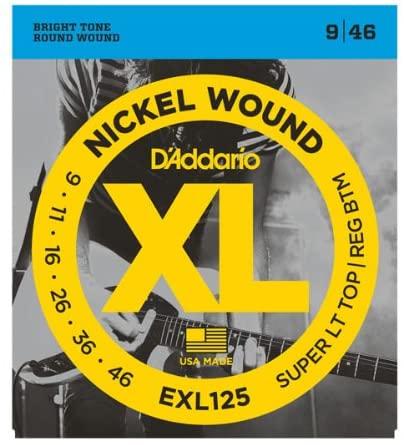 Daddario EXL125 NICKEL WOUND 9-46