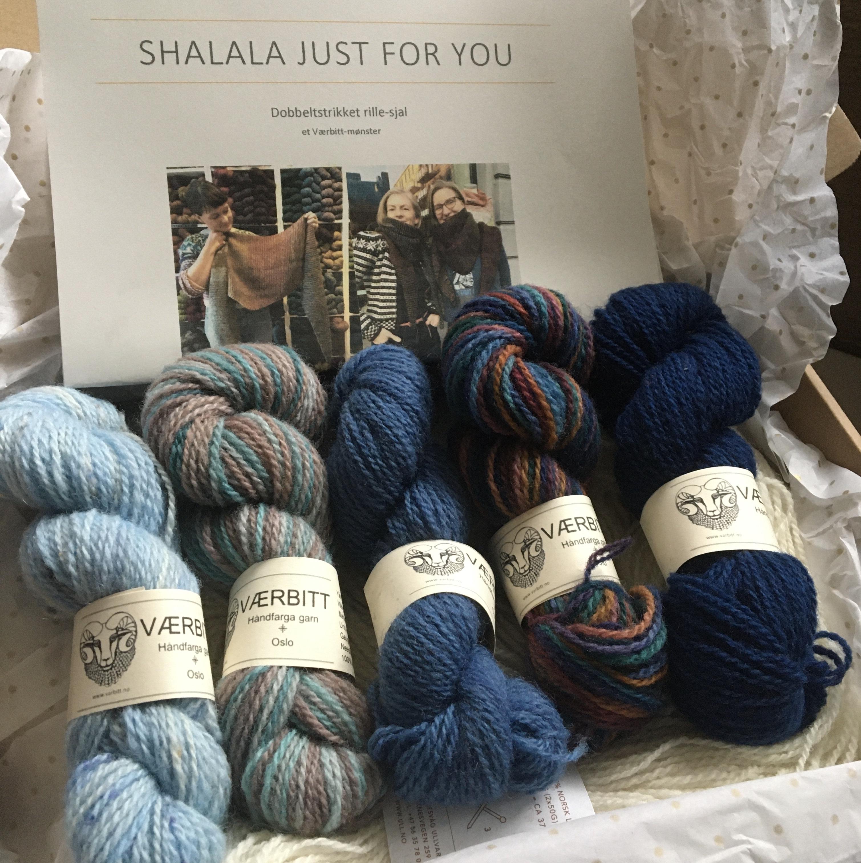 Værbitt, Shalala just for you