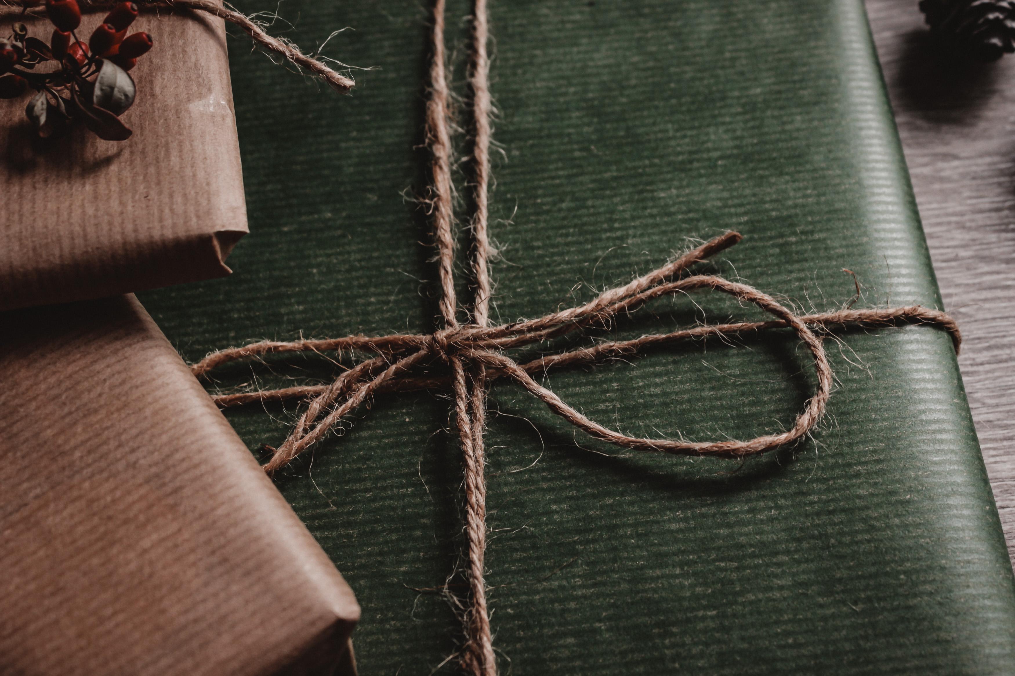 Gaveinnpakning (illustrasjonfoto av Lucie Liz)