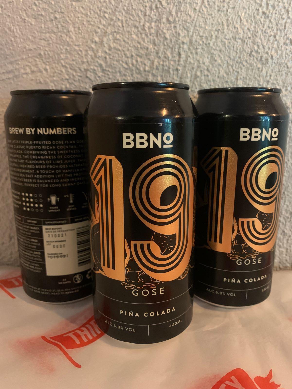 BBNO | 19 | Pina Colada Gose  6% 440ml