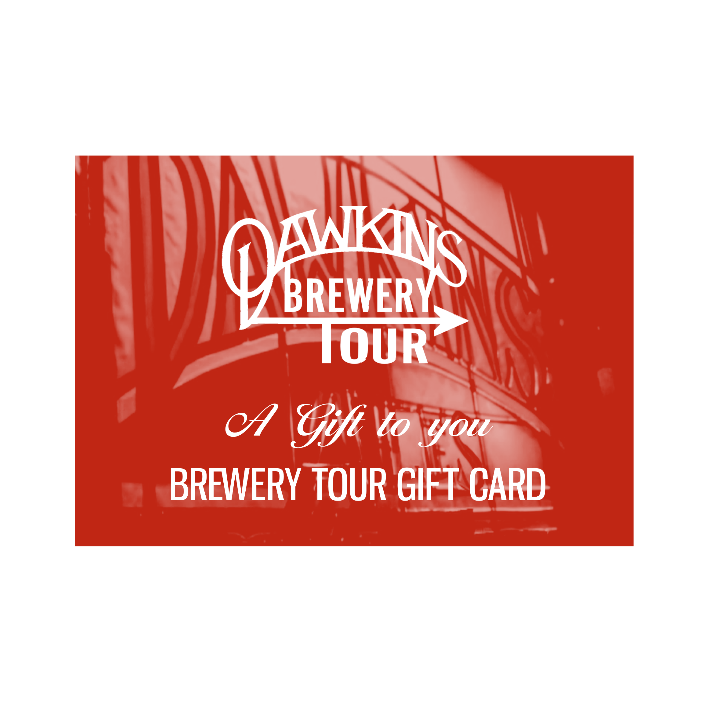 Brewery Tour Voucher - instant e-gift