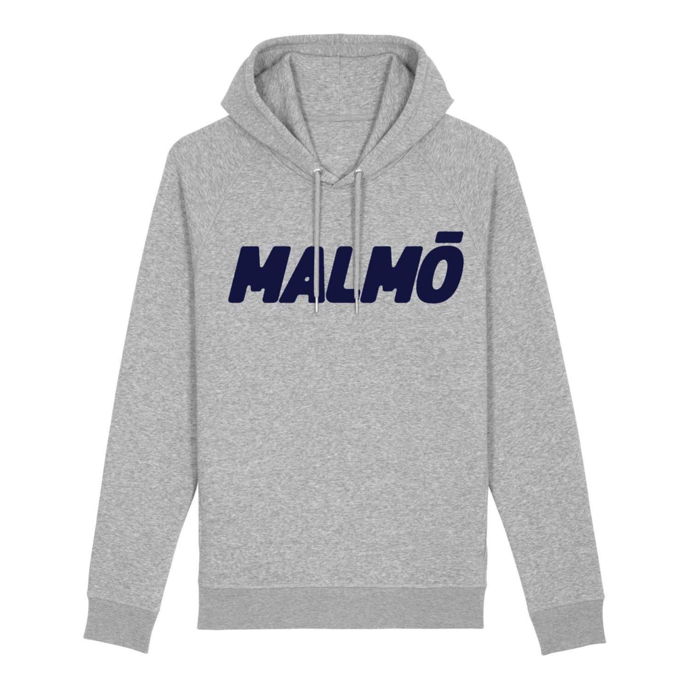 MALMÖ - Hoodie Grå/Navy