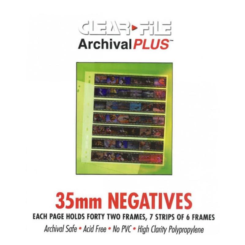Negativfickor för småbild 135mm 10-pack