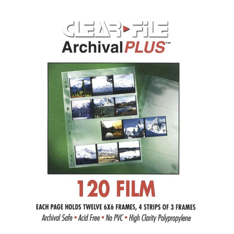 Negativfickor för 120-film 10-pack