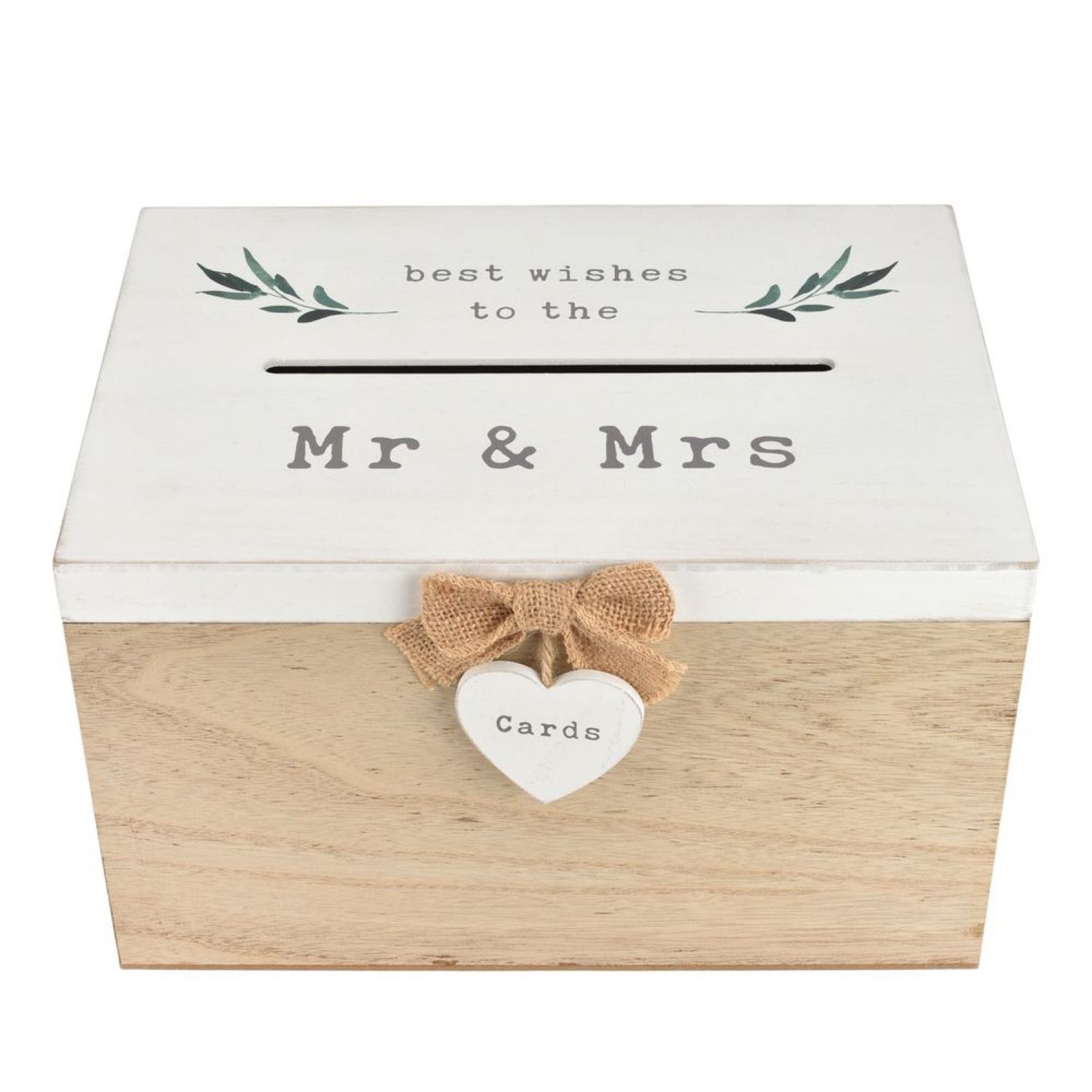Best Wishes to the Mr & Mrs Card Box