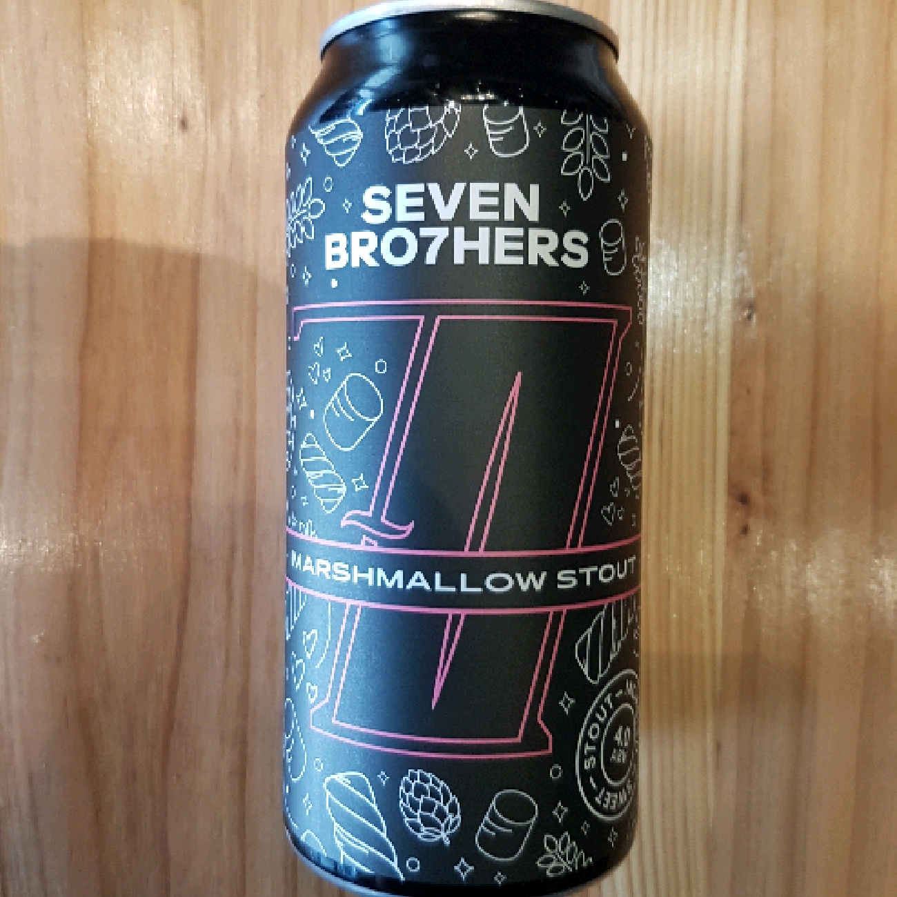 Seven Brothers Marshmallow Stout