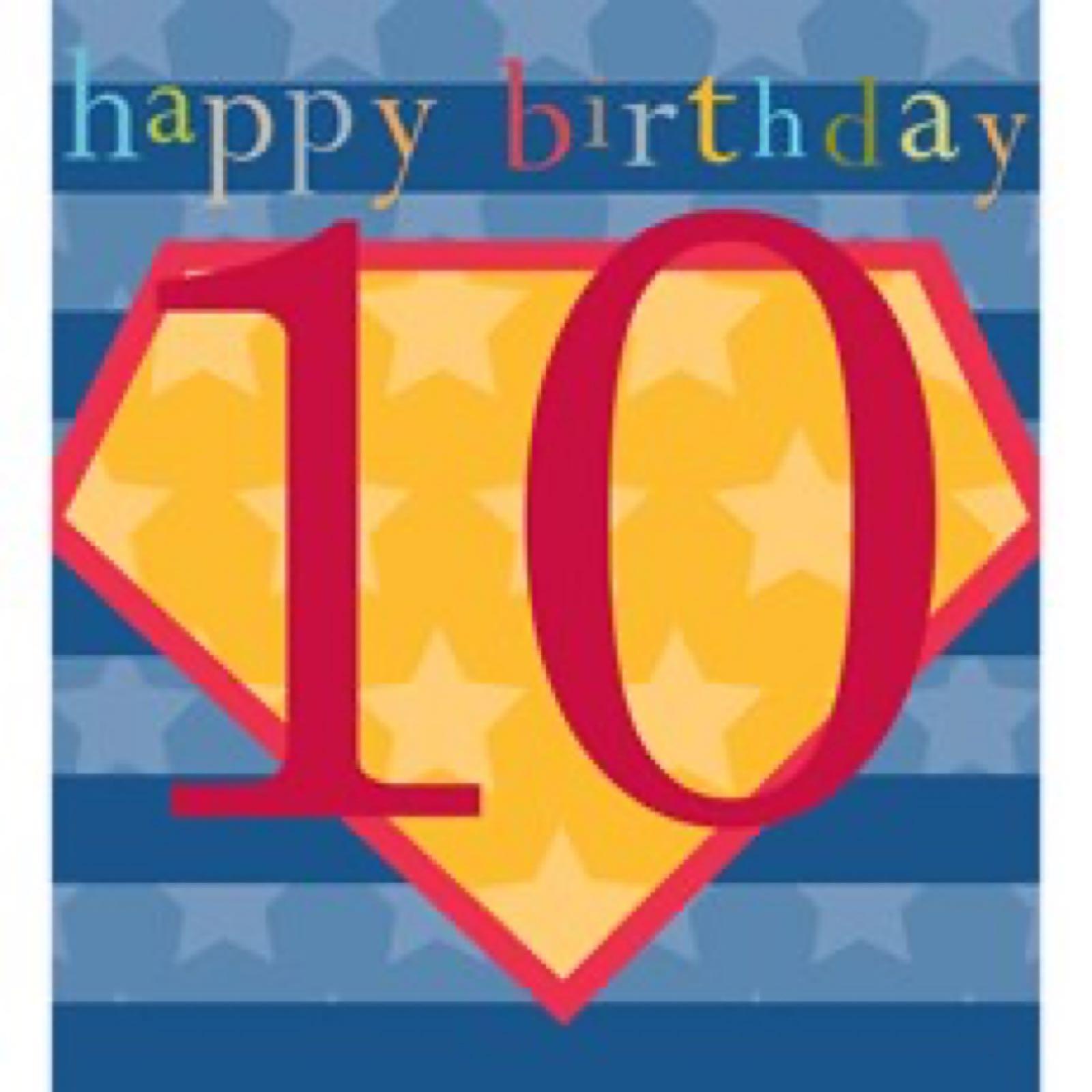 10th Birthday (KID39)