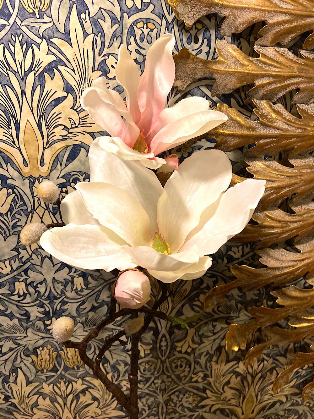 Magnolianoksa hento vaaleanpunainen