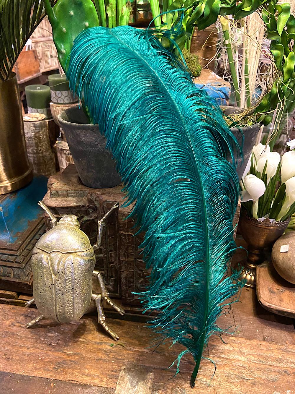Strutsinsulka Smaragdinvihreä