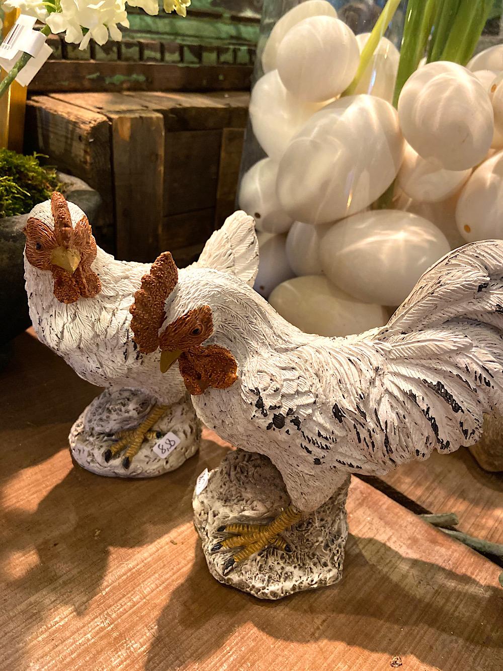 Kana ja Kukko pariskunta