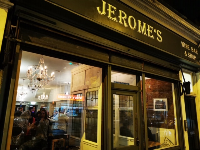 JEROME'S WINE BAR & SHOP LTD