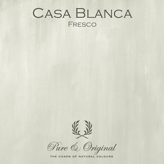 Kulör Casa Blanca, Fresco kalkfärg