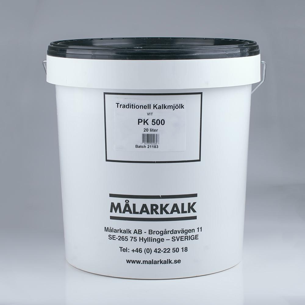 Kalkmjölk, Färdigblandad, Vit, 20 L