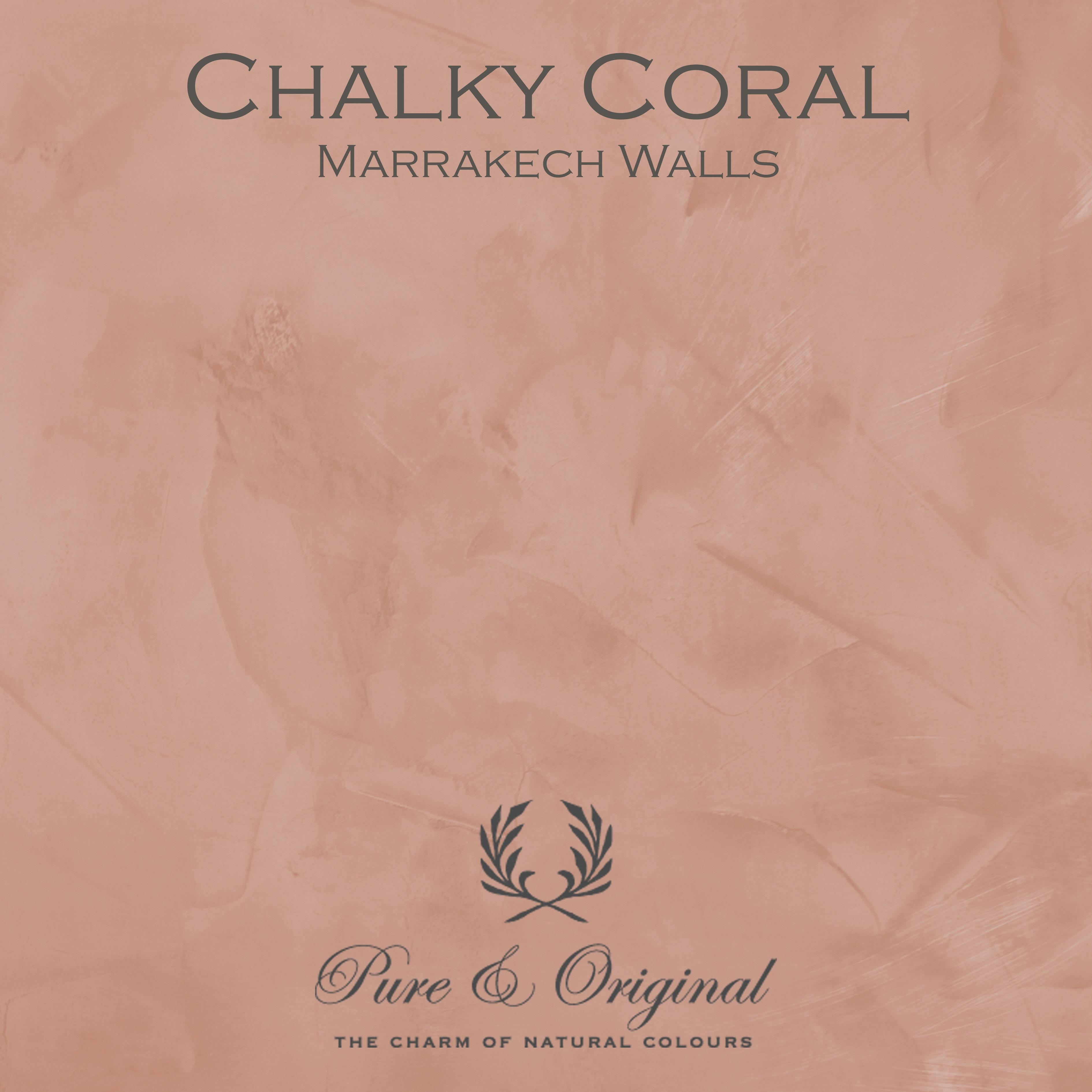 Kulör Chalky Coral, Marrakech Walls kalkfärg