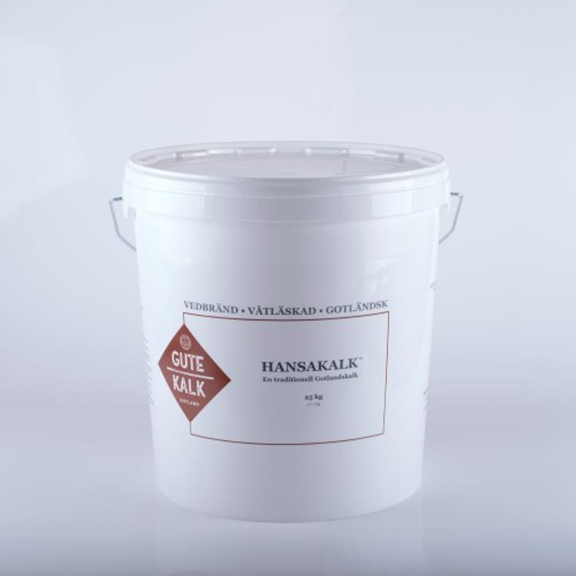Hansakalk, Gotländsk vedbränd, kalkpasta 25 Kg