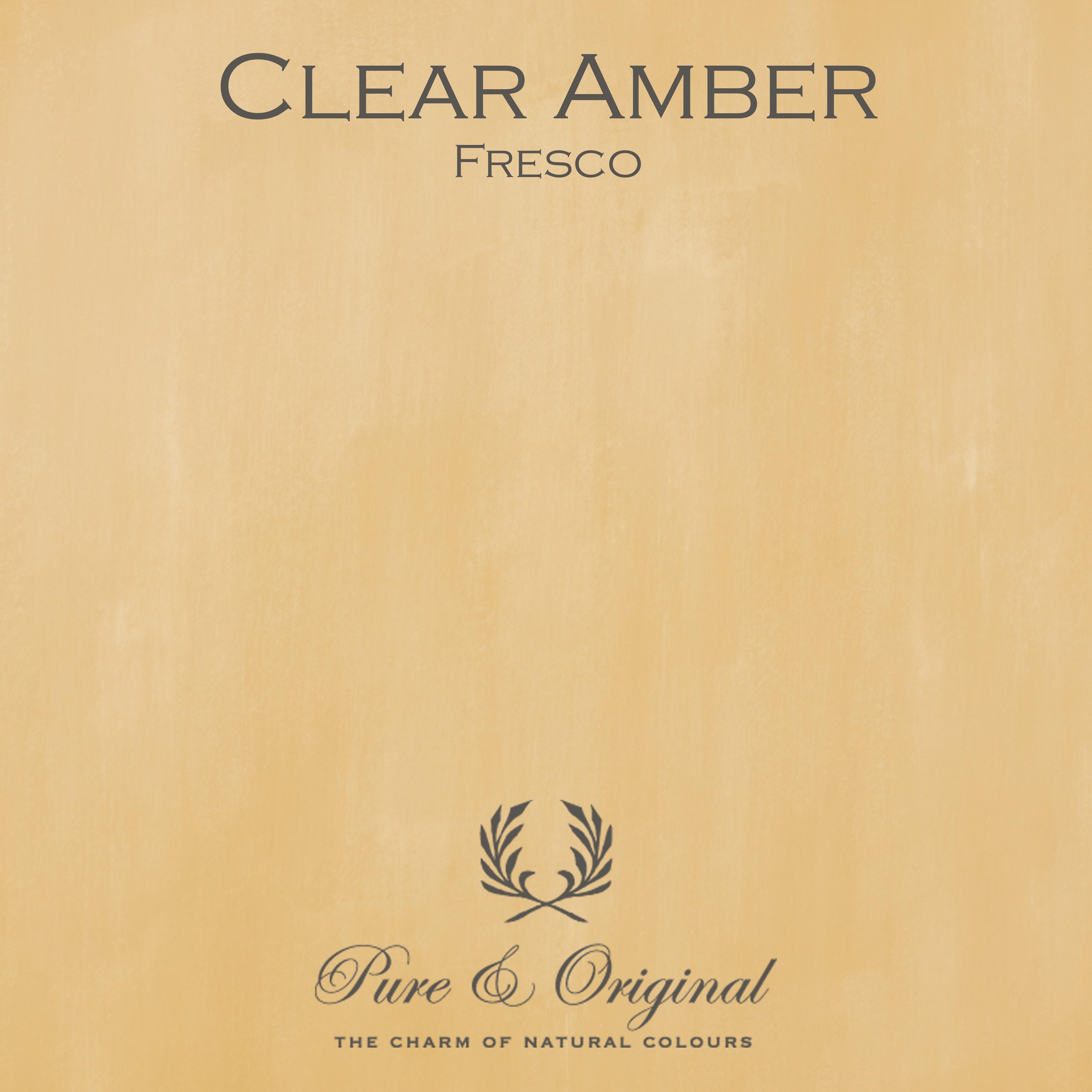 Kulör Clear Amber, Fresco kalkfärg