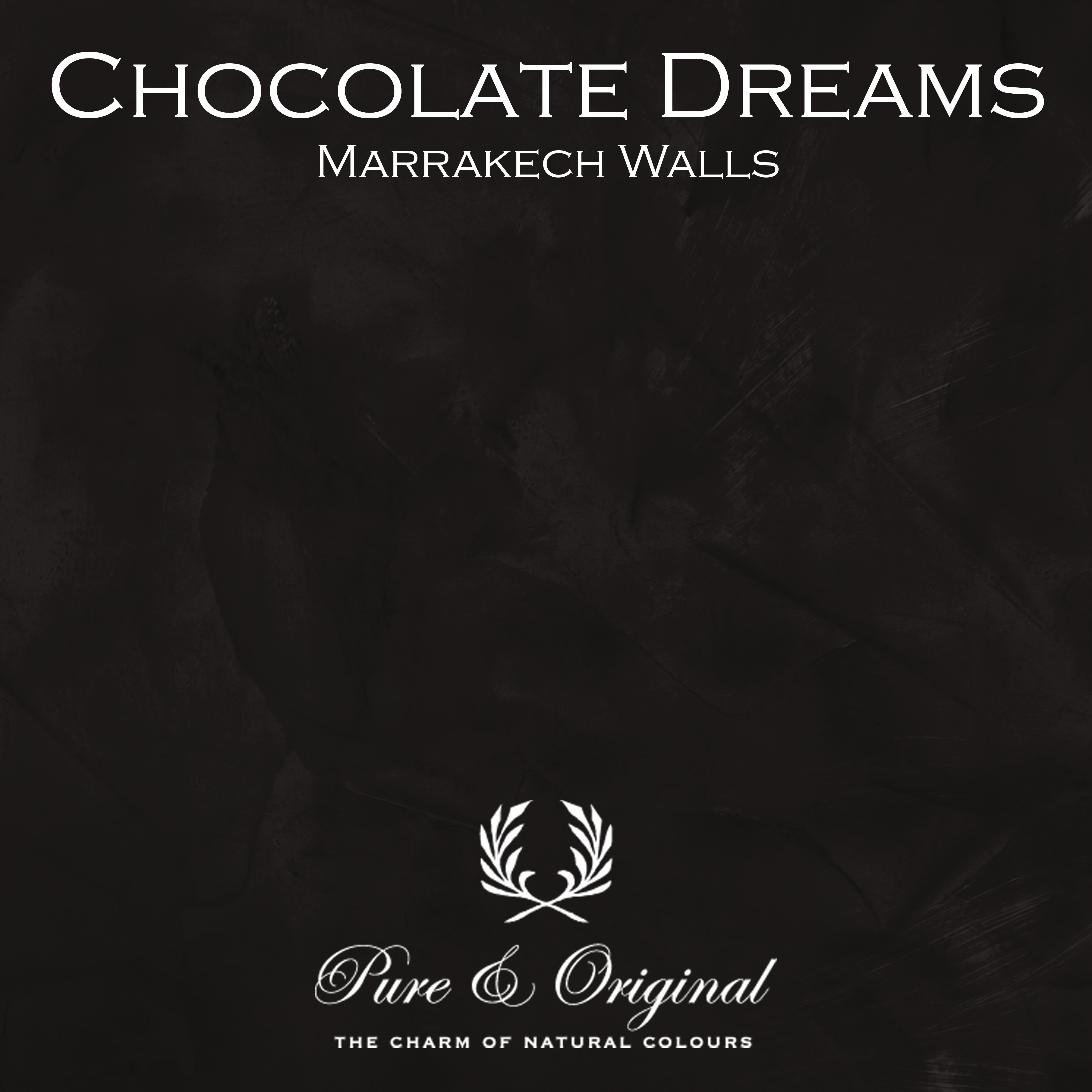 Kulör Chocolate Dreams, Marrakech Walls kalkfärg