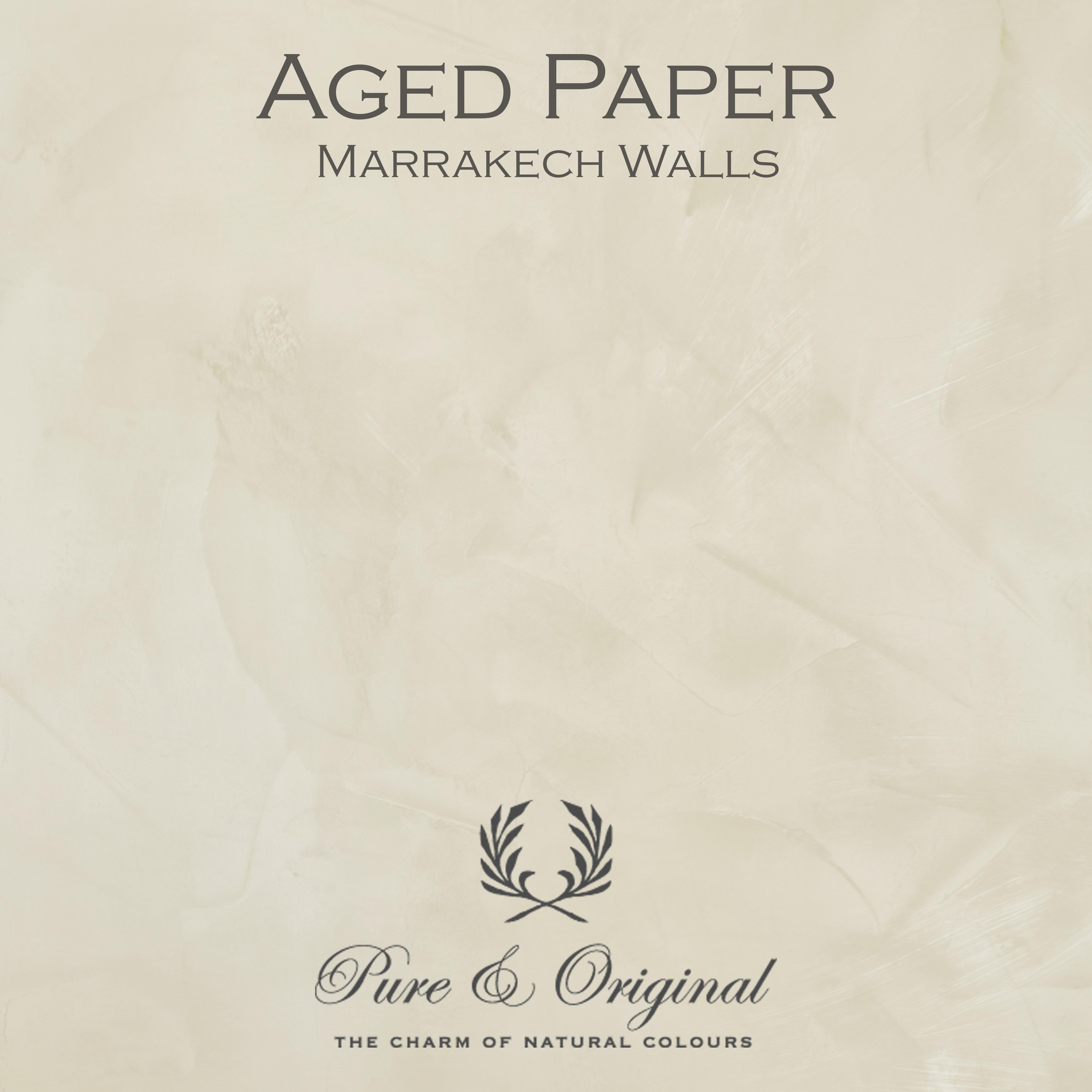 Kulör Aged Paper, Marrakech Walls kalkfärg