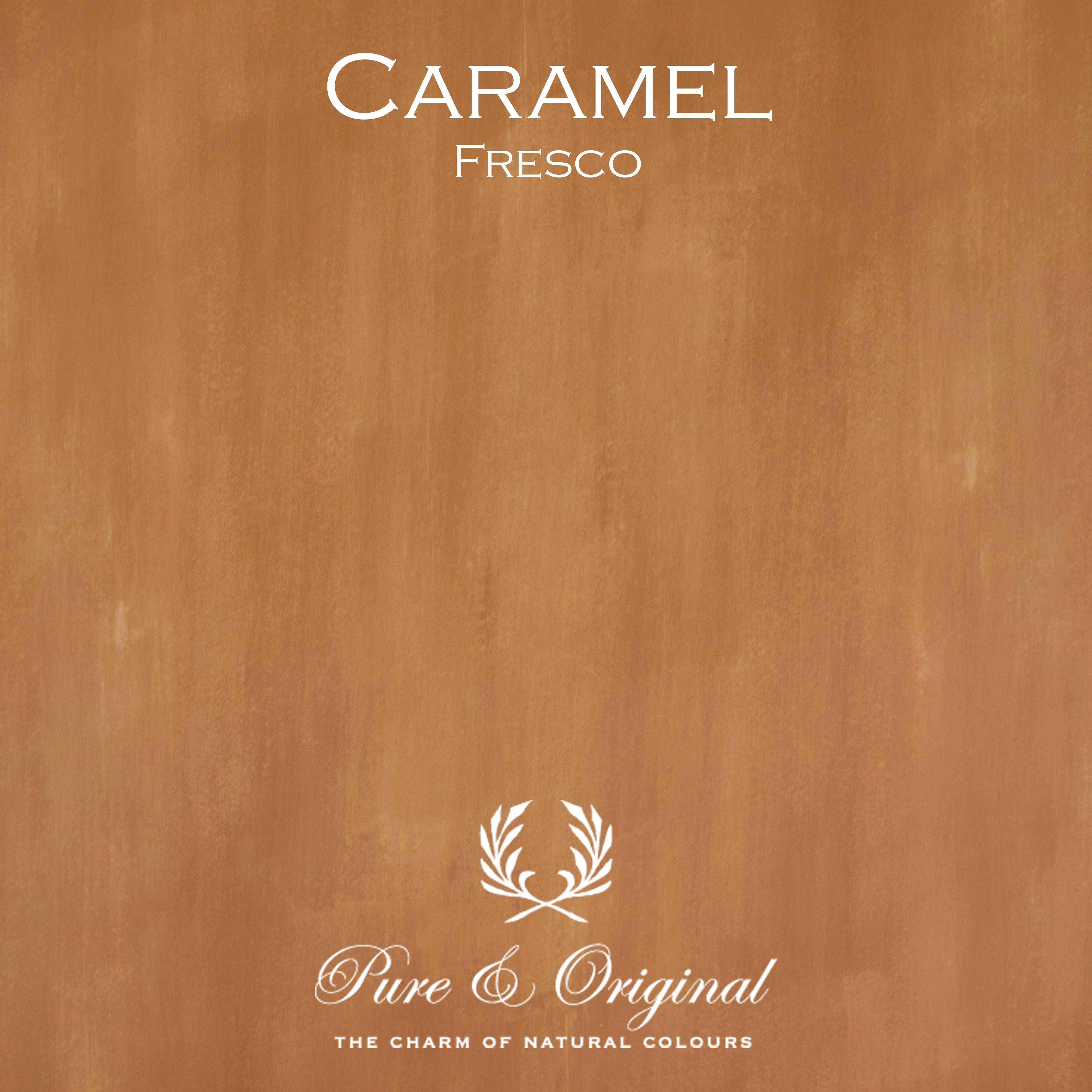 Kulör Caramel, Fresco kalkfärg